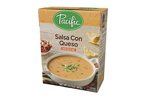 Pacific Foods Salsa Con Queso, 12.75-Ounces, 12-Pack