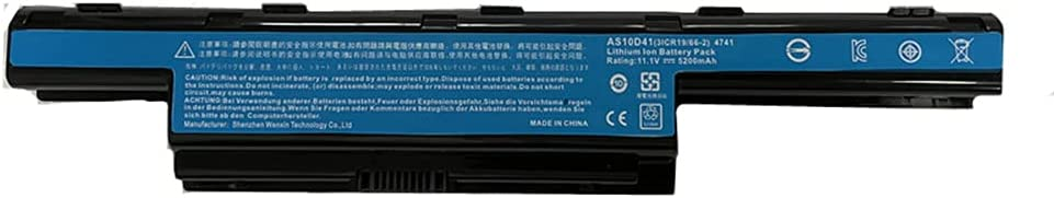 Civhomy Replacement Battery for Acer Aspire 7741G-334G50Mn 7741G-3647 7741G-374G64Mn 7741G-434G50Mn 7741G-464G64Mn 7741G-7017 7741Z 7741Z-4475 BT.00603.117