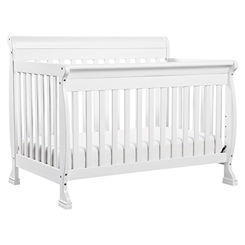 DaVinci Kalani 4-In-1 Convertible Crib, White by DaVinci