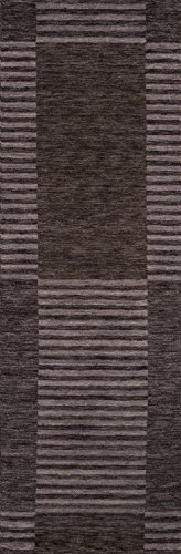 Momeni Rugs GRAMEGM-07CAR2680 Gramercy Collection, 100% Wool Hand Loomed Contemporary Area Rug, 2'6