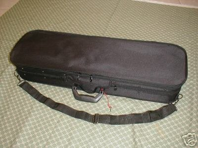 New viola hard case, arched top, size adjustable by Maestro