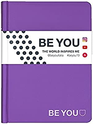 Diario Agenda Be You Rojo Slim 2018/19 13,5 X 18,5 Cm ...