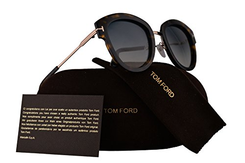 Tom Ford FT0574 Mia-02 Sunglasses Dark Havana w/Green Gradient Lens 52P TF574 TF 574 FT574 FT 574 FT - Ford Tom Sale