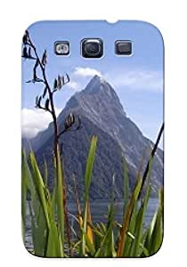 Ideal Treponemaor Rocks ForFor Case Samsung Note 3 Cover(milford Sound Mitre Peak New Zealand ), Cloud Protective Stylish Rocks Case