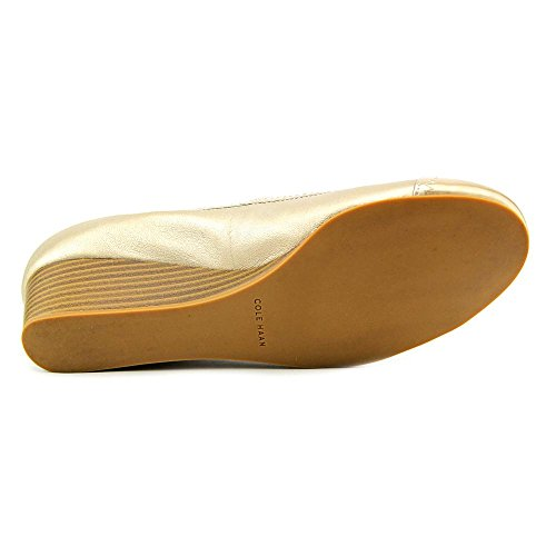 II Womens Wedge Toe Soft Elsie Metallic Haan Cole Gold Cap Y6SxUwT77q