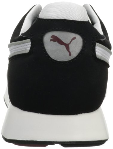 Puma Mens Rs 100 Aw Fashion Sneaker Bianco / Cabernet / Nero