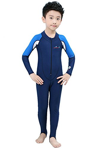 Kids Sun Protection Sunsuit Long Sleeves Wetsuit for Boys and - For Sale Wet Suit