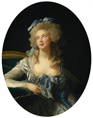 [High Quality Polyster Canvas ,the Best Price Art Decorative Prints On Canvas Of Oil Painting 'lisabeth-Louise Vigee-Le Brun-Portrait Of Madame Grand,1783', 20x25 Inch / 51x64 Cm Is Best For Foyer Decoration And Home Gallery Art And] (Half Doll Half Zombie Costume)