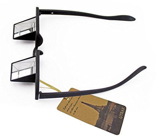 Utrax Prism Bed Specs Laying in Tv Book Reading Lazy Glasses Periscope Eyeglasses - Frame Images Specs