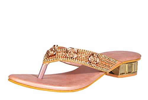 Khadims Women's Slip-on Slide Sandal