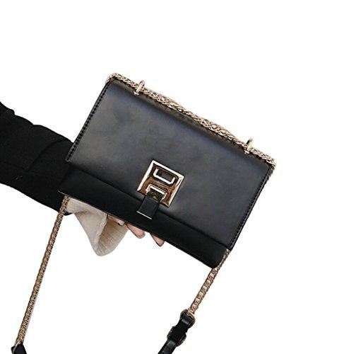 Simplicité Simple Épaule Petit Black Transparent Carré Femelle Élégant GZHGF Mesdames Sac Messenger q7w5EnI