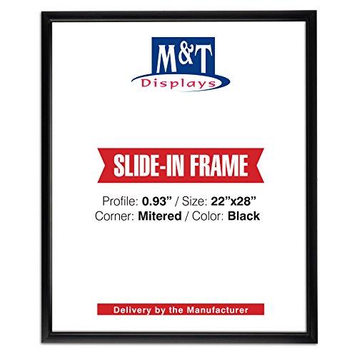 "Slide in Frame 18 X 24 Inch Poster Size, 0.93"" Aluminum Prof"