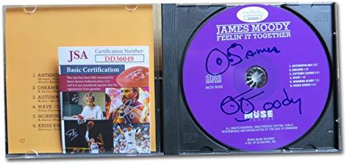 James Moody Signed Autographed CD Feelin' It Together JSA DD36049