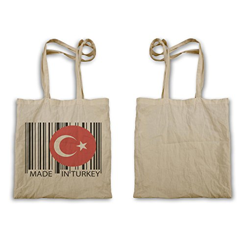 Gemacht in der türkei reise welt lustige neuheit Tragetasche uu47r