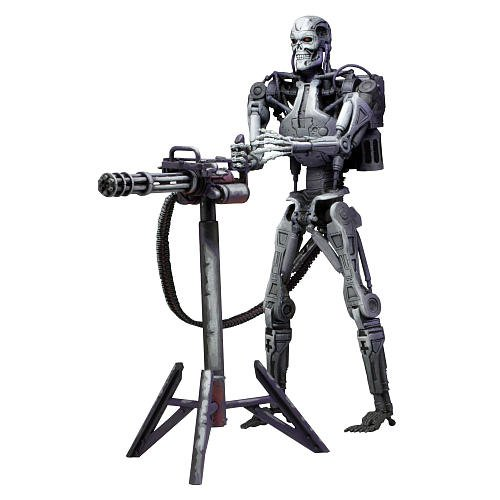 Robocop Vs. Terminator (93 Video Game) 7 Action Figure Series 1 Endoskeleton
