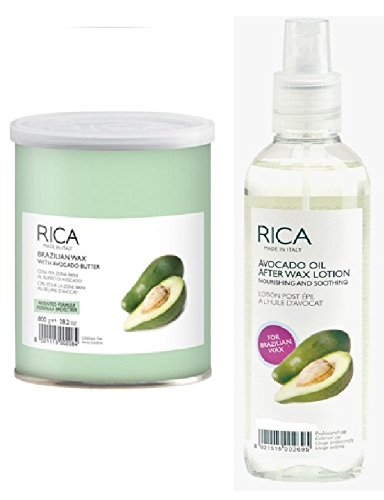 56c250b4223 Buy Rica Brazilian and After Wax Lotion with Avocado Oil and Ayur ...