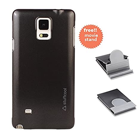 Stuffcool Element EMSGN910-BLK Hard Phone Case for Samsung Galaxy Note 4 (Black) <span at amazon