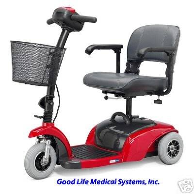 Active Care Spitfire 3-Wheel Travel Scooter