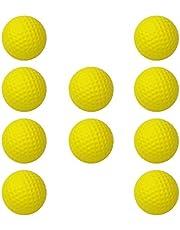 Amagogo Golfballen, zacht, draagbaar, voor sport, training, buitenshuis, 10 stuks