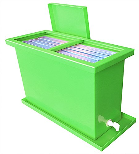40 Gallon Screen Printing Dip Tank - Fits 6 Screens up to 25'' x 36'' Big Dipper Tank by Screen Print Direct (GREEN) by Screen Print Direct