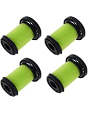 PUREBURG 4-Pack Replacement Vacuum Filters Compatible with Bissell Multi Cordless Handheld Car Vacuum 1985 1985T Fits Multi Reach Handheld Cordless Vac Cleaners 2151A 21512 21513 2151C 2151V Part 1610335/161-0335