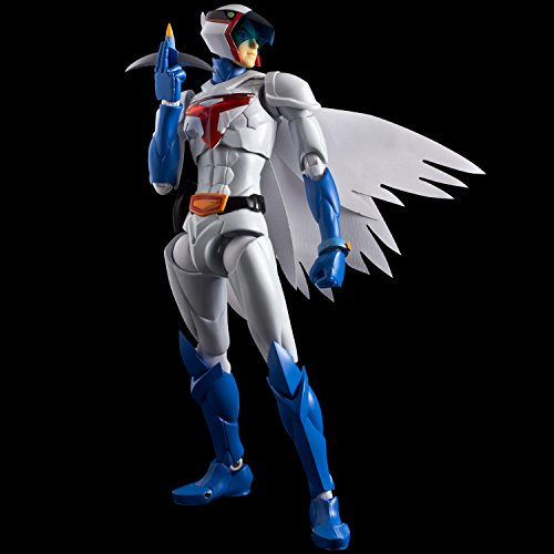 Tatsunoko Heroes Fighting gear Gatchaman G1 No. non-scale ABS u0026 PVC u0026 die-cast painted action figure by Sen-chineri