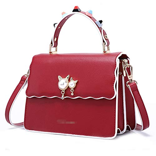 Square Bolsos Slung B Wild Bag Shoulder Trend Handbag New a Fashion Para Small Mujer CvqwvdxZ
