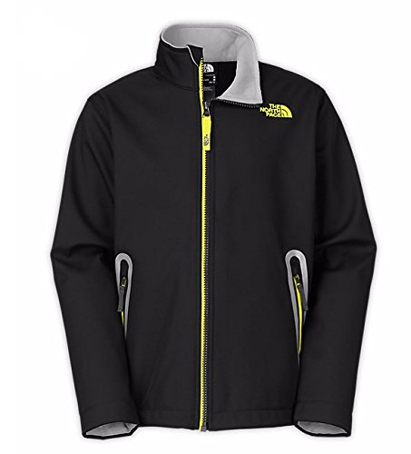 The North Face TNF Apex Bionic Jacket Boys' TNF Black (North Face Windwall 2 Jacket)