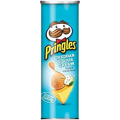 Pringles Cheddar & Sour Cream Potato Crisps, 5.5 oz