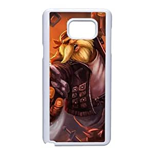Generic for Samsung Galaxy Note 5 Cell Phone Case White Gragas Custom HAKHAOKHG4857