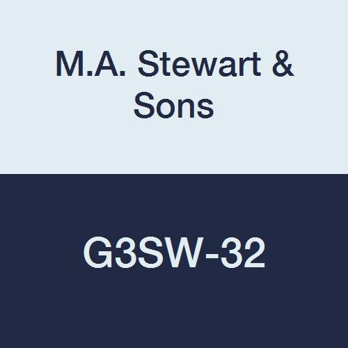 Stewart /& Sons G3SW-32 G Series Investment Cast Stainless Steel Ball Valve 2 2 M.A