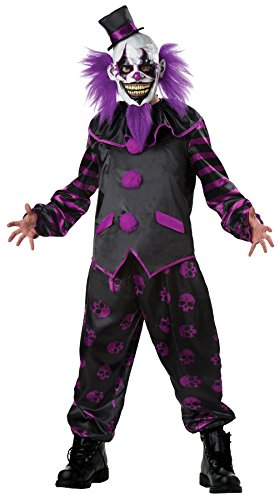 Mario Chiodo Bearded Clown Costume Adult -