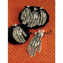 Martha Stewart Crafts Skeleton Hand Cello Treat Bags -