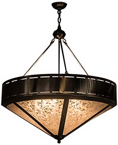 (Meyda Tiffany 68317 Craftsman Prime Inverted Pendant Light Fixture, 36