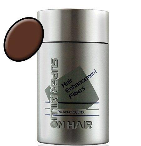 Super Million Hair - Hair Enhancement Fibers - 10 grams - Medium Brown / No. 23
