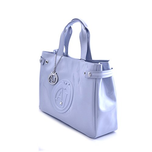 5601d05b4a66 Armani Jeans Shopping bag woman Pvc Plastic light blue  Amazon.co.uk   Luggage
