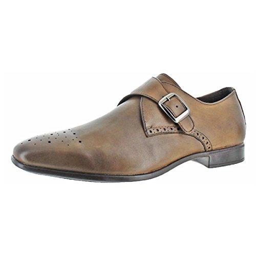 Charles Jourdan Jean Men's Leather Monk Strap Dress Shoe (11.5, (Jourdan Leather Sandals)
