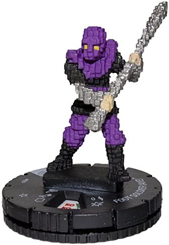 HEROCLIX TMNT 4 Unplugged 007 FOOT SOLDIER with AXE
