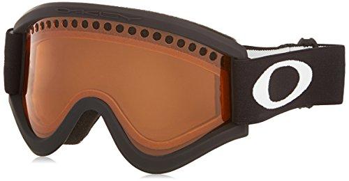 Oakley E Frame Dual Vented Lens Ski Goggles - Black / Persimmon