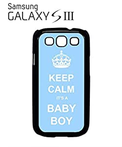 Keep Calm it is a Boy Mobile Cell Phone Case Samsung Galaxy S3 Black