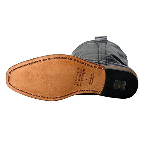 Maison Margiela 22 Zapatos De Botas De Cuero Con Look Envejecido Para Hombre Us 10 It 43