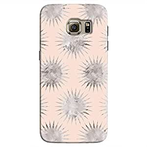 Cover It Up - Silver Pink Star Galaxy S7 Edge Hard Case