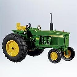 4020 Disel Tractor J Deere 2011 Hallmark Ornament