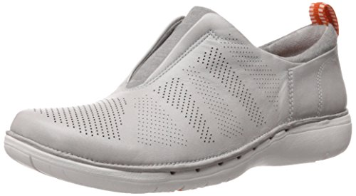 Light Un Leather Clarks Loafer Slip Spirit Grey Women's On wFnxqaTR