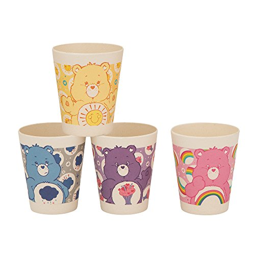 Care Bears Mug - Vandor Care Bears 4-Piece 10-Ounce Bamboo Cup Set (29003)