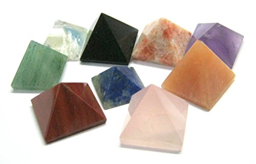 CRYSTALMIRACLE Pyramids wellness positive Metaphysical