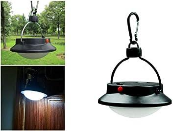 1 Pc Great Popular LED Nightlight Portable Hiking Light Fishing Picnic Lamp Outdoor Tent Lantern Color Black