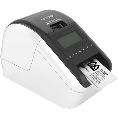 Brother QL-820NWB Professional Ultra Flexible Label Printer - Office Bundle by Brother (Image #4)