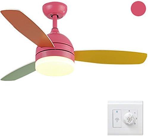 Liuyu · Ventilador de techo para niños Color de la luz Fan simple ...