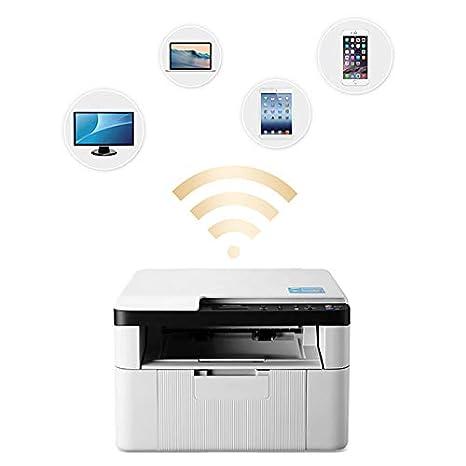 TANCEQI Impresora Multifunción Color LED(Impresión/Copia ...